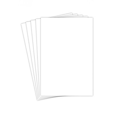 """Blank White Cardstock 12"""" x 12"""" Inches 