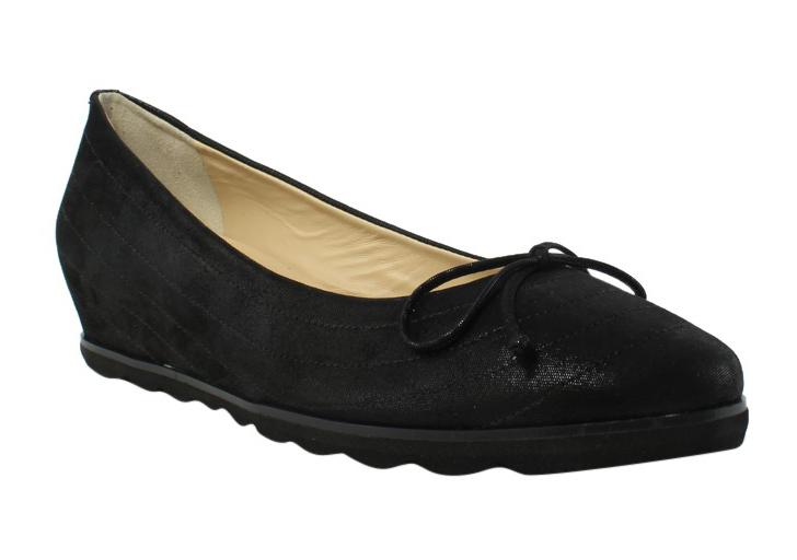 Amalfi Womens Black Ballerinas Flats Size 10 New by Amalfi
