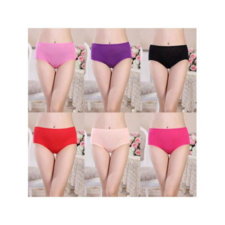 MarinaVida Women Menstrual Period Physiological Leakproof Panties Briefs Underwear Panties (Womens Kickers)