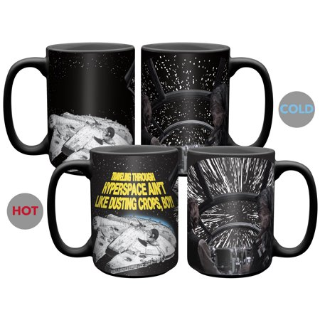 Star Wars Lightspeed 15 Ounce Millennium Falcon Coffee (Mustang 15 Ounce Mug)
