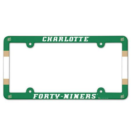 UNC Charlotte 49ers Plastic License Plate Frame](49ers Decorations)