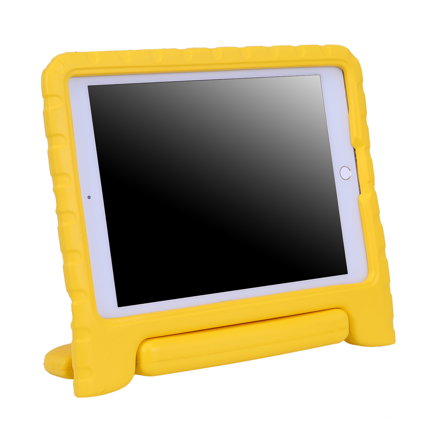 HDE iPad Air 1 Case for Kids Bumper Cover Shockproof Protection Handle Stand for iPad 5 (Orange)