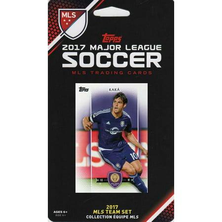 Orlando City Sc 2017 Topps Mls Soccer Factory Sealed 11 Card Team Set With Sebastian Hines And Kaka Plus