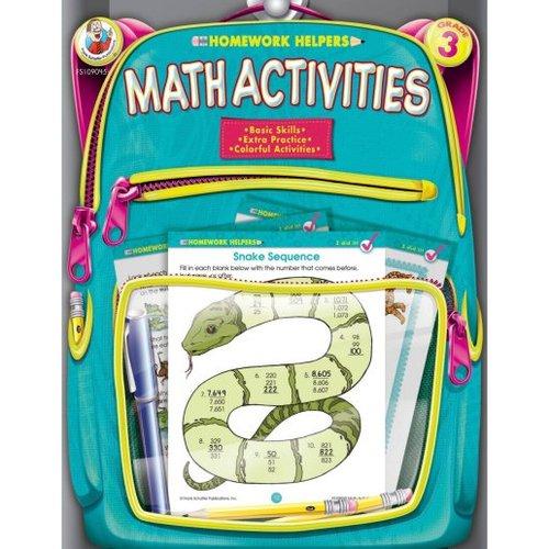 Homework Helpers Math Activities Grade 3