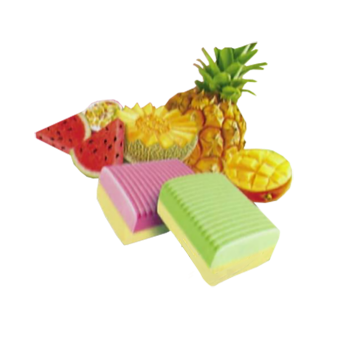TROPICAL FRUITS CHEWY CANDY Delicious, Fruit-Flavoured Soft Chewy Candy