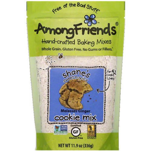 Among Friends Shane���s Sweet-n-Spicy Molasses Ginger Cookie Mix, 11.9 oz, (Pack of 6)
