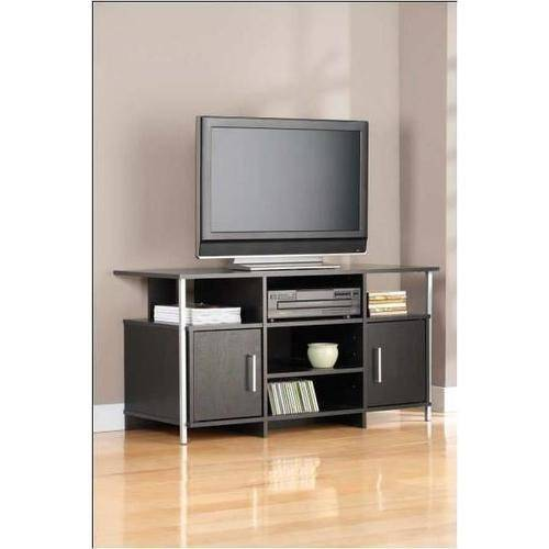 "Mainstays TV Stand for Flat Screen TVs up to 42"", Black"