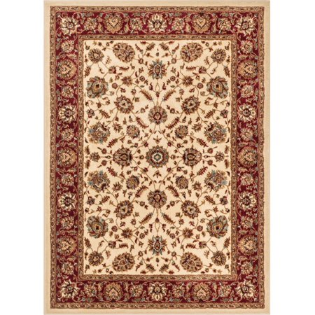 Well Woven Aurora Lea Traditional Oriental Ivory 3'11