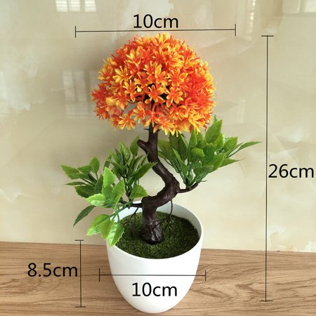 LeKing Simulate Potted Plant Simulate Simulate Onion Flower Ball Plant Rich Flower Bonsai Set Small Potted Green Plant Home Decoration Desktop Decoration Floriculture - image 3 of 3