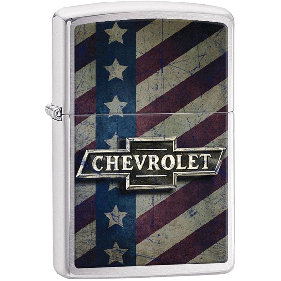 Zippo Chevy Star and Stripes Pocket Lighter 29148