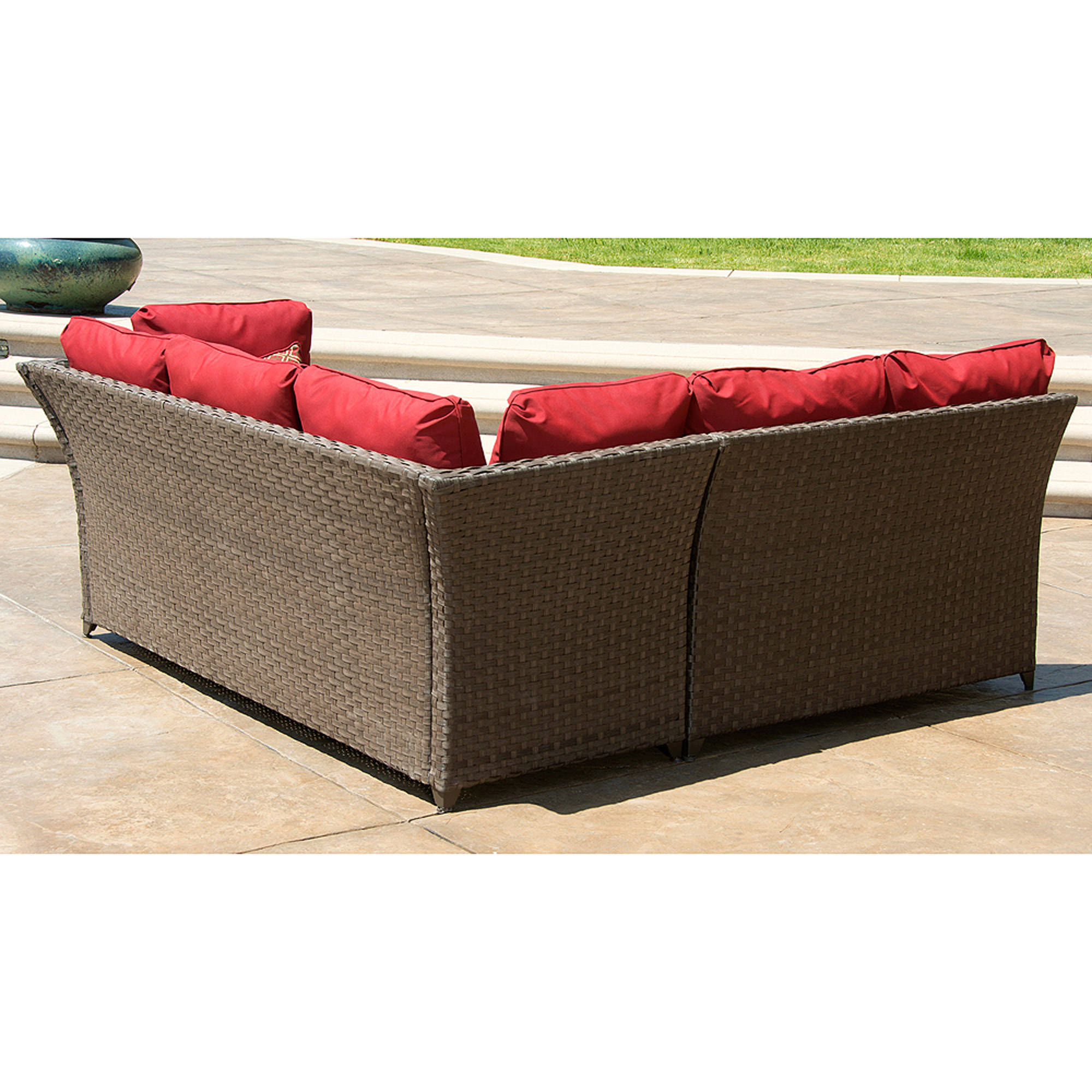 Better Homes Gardens Rr 3pc Sectional Set Walmart Com