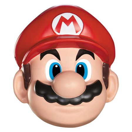 Morris Costumes Adult Unisex Mario Red Hat Big Mustache Mask One Size, Style DG73812 - Mario Hat And Mustache
