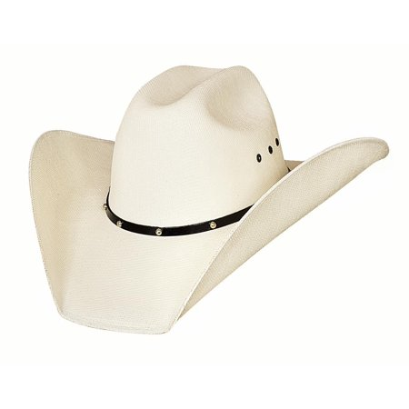 Bullhide Hats Double Barrel Ace Western 50X Manhatten Straw Cowboy Hat ()