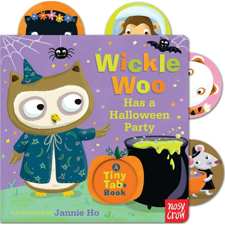Wickle Woo Has a Halloween Party (Board Book)](Planning A Children's Halloween Party)