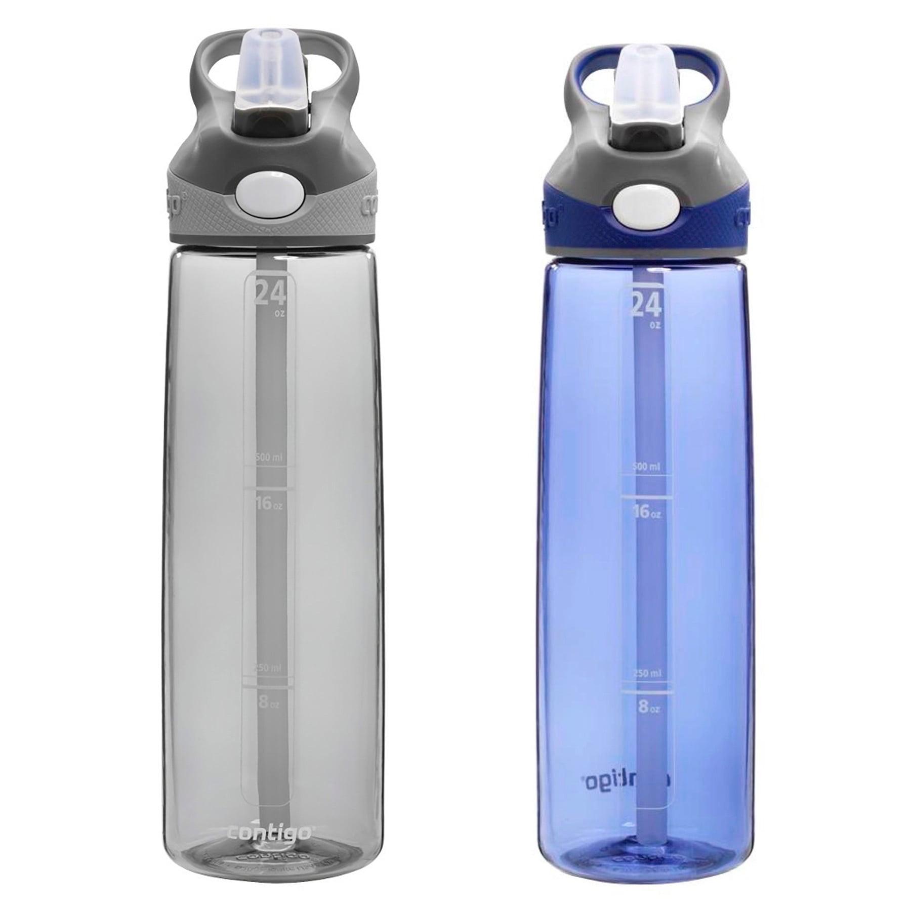 24 Oz Smoke Contigo ADH100A04 AUTOSPOUT Addison Water Bottle