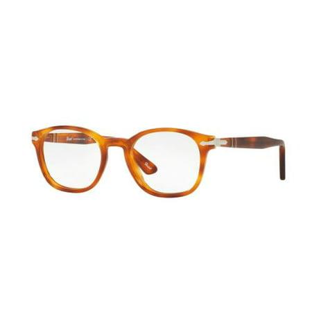 7c1f95b3d42dd PERSOL Eyeglasses PO3122V 96 Light Havana 50MM - Walmart.com