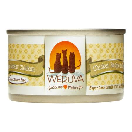 Weruva Paw Lickin' Chicken Wet Cat Food, 3 Oz