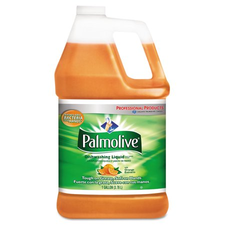 - Palmolive Dishwashing Liquid with Orange Extracts, 1 gal