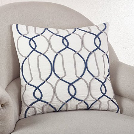 Cord Design Gep Throw Pillow, 3 Colors (Square 20