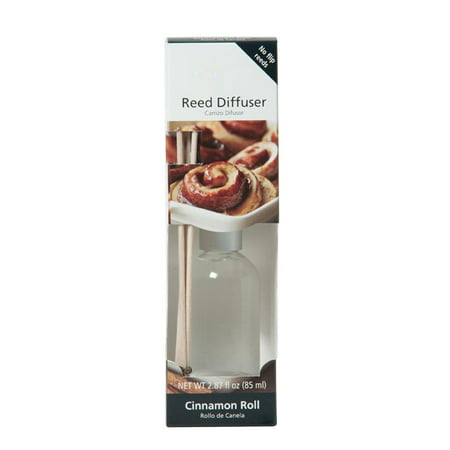 Cinnamon Diffuser (Hosley® Premium Cinnamon Rolls Reed Diffuser Refill Oil- Set of 2 / 85ml)