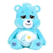 """NEW 2021 Care Bears 9"""" Bean Plush - Bedtime Bear - Soft Huggable Material!"""