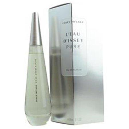Issey Miyake 285544 Leau Dissey Pure Eau De Parfum Women Spray - 3 oz