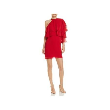 Love Charles Womens Chiffon Semi-Formal Cocktail Dress