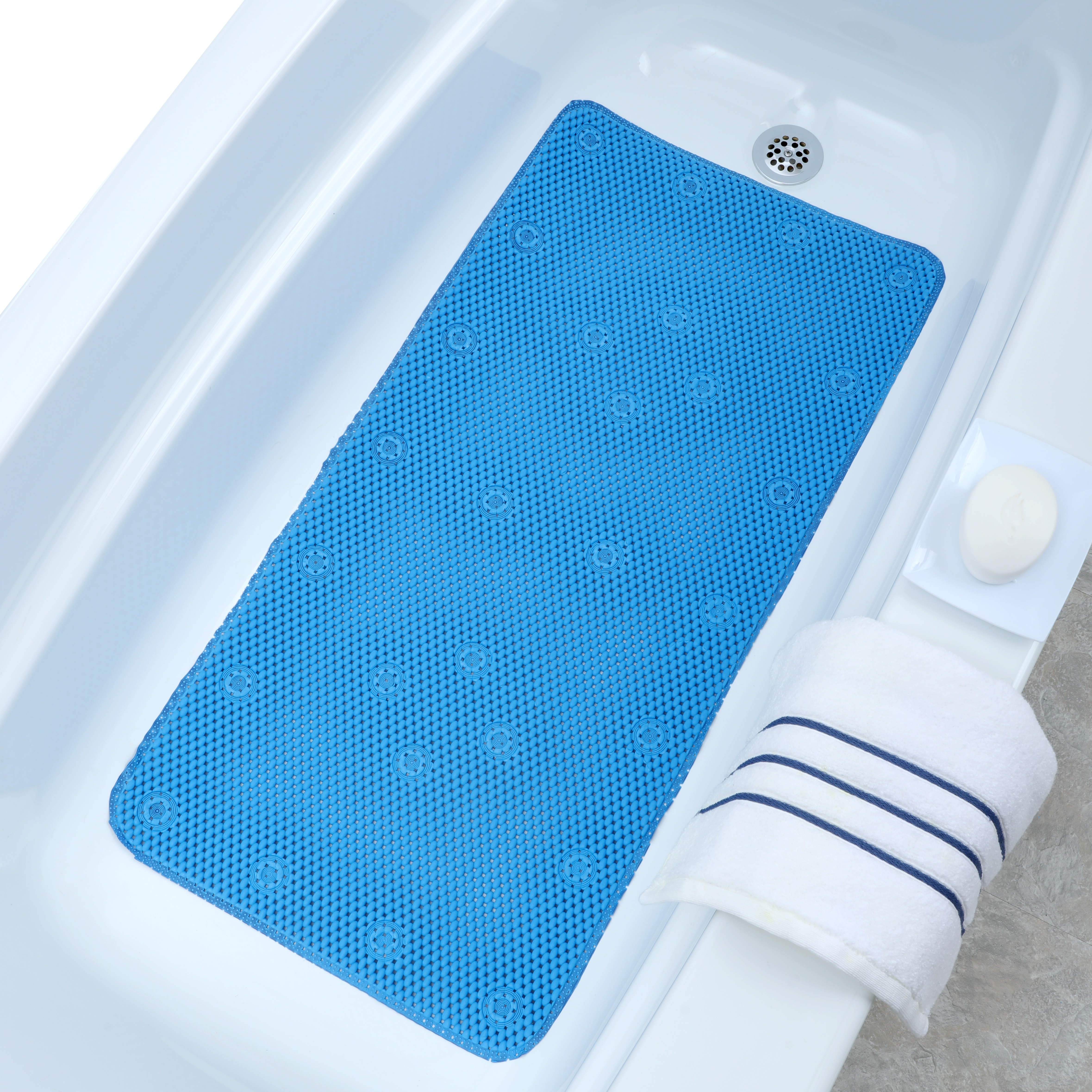 SlipX Solutions Comfort Foam Bath Mat