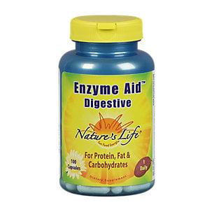 Natures Life - Aide Enzyme Digest Cap, Capsule (BTL plastique) 100CT