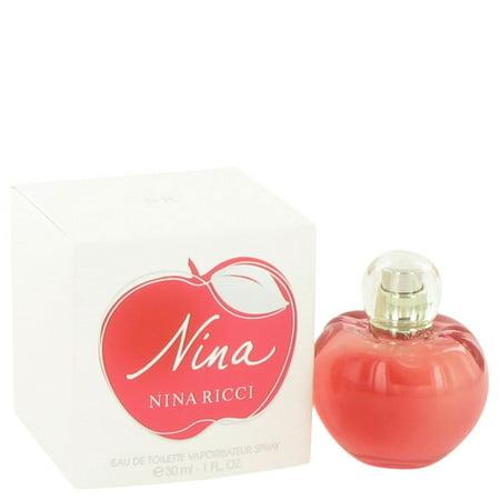 Nina By Nina Ricci Eau De Toilette Spray 1 Oz Nina Ricci Vanilla Eau De Toilette