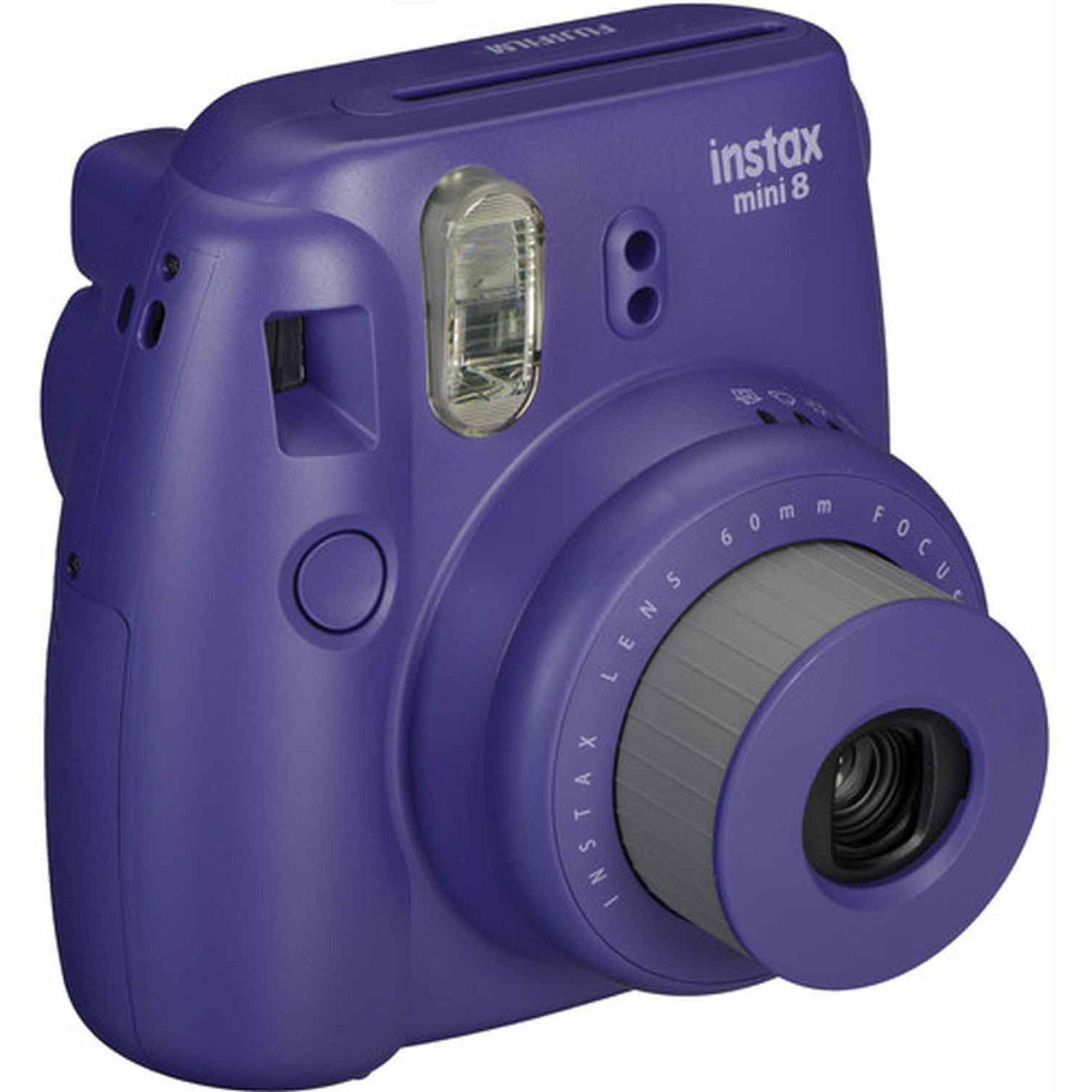 Fujifilm Grape instax mini 8 Instant Camera