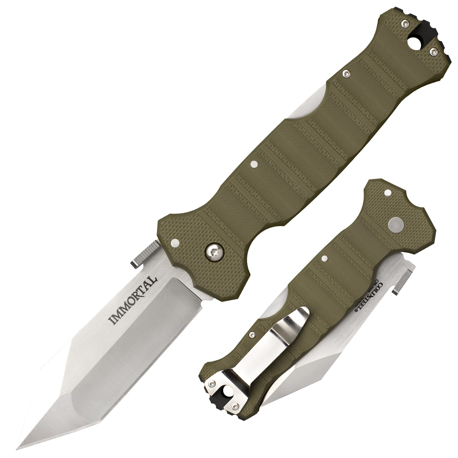 Cold Steel Immortal Olive Drab Green by Cold Steel