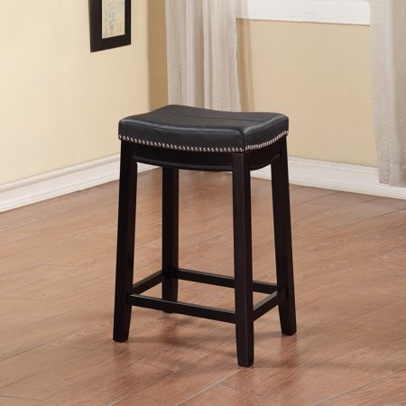 Linon Claridge Patches Counter Stool Multiple Colors 24