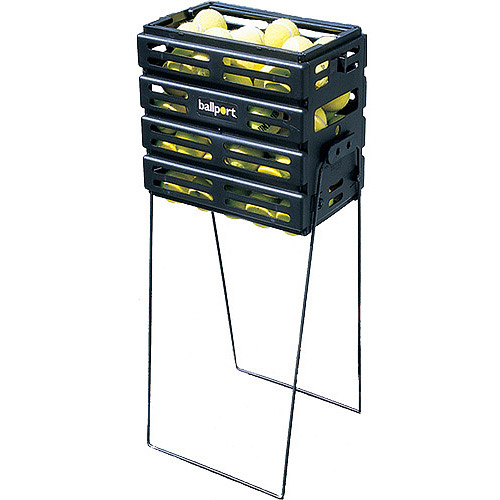 Tourna Pete Sampras Tennis Ball Ballport Pickup Basket, 80-Ball Capacity