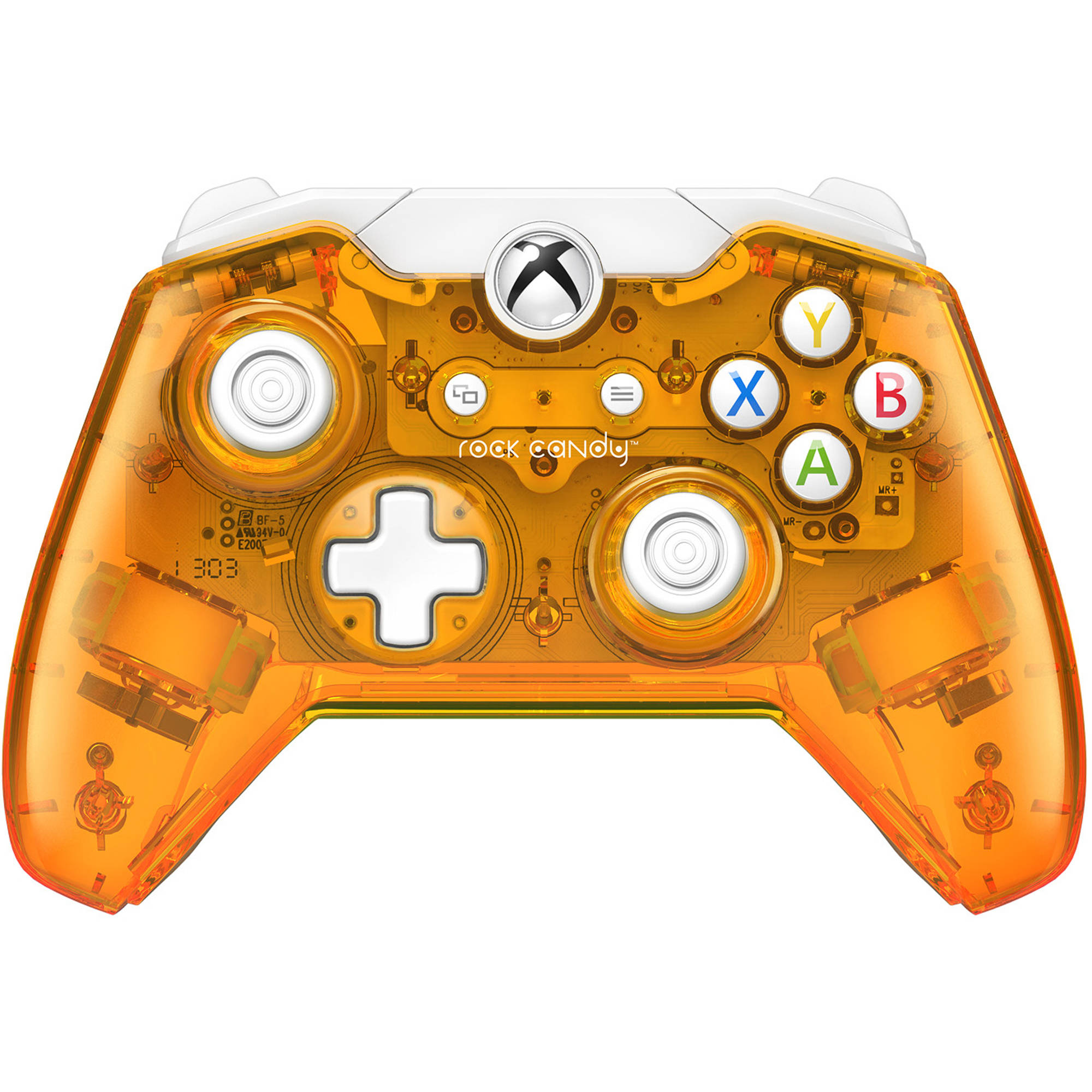 Rock Candy Wired Controller, Orange (Xbox One)