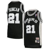 d537601b8 Product Image Tim Duncan San Antonio Spurs Mitchell   Ness Youth Hardwood  Classics Swingman Jersey - Black