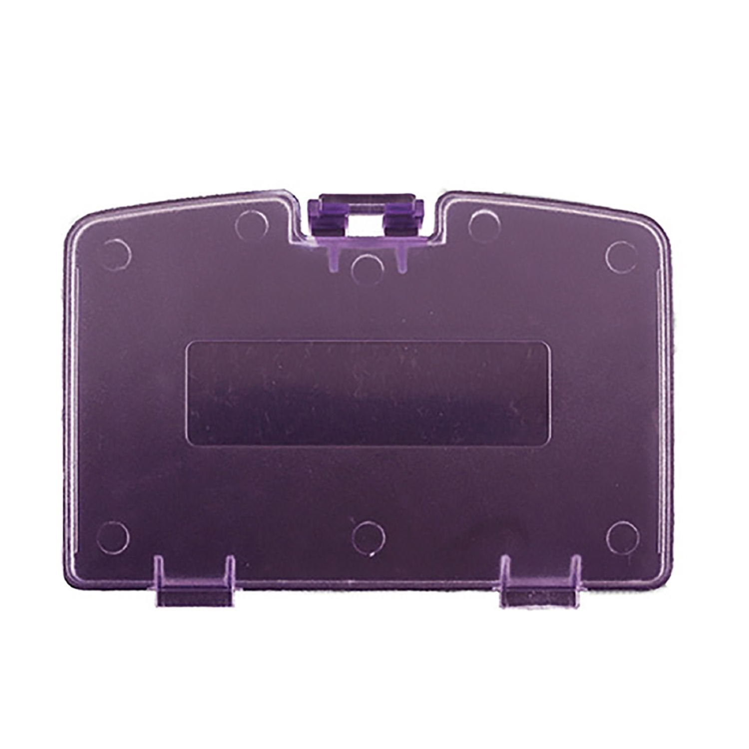 Third Party Repair Part Battery Door Cover for GBC Clear Atomic Purple by Third Party