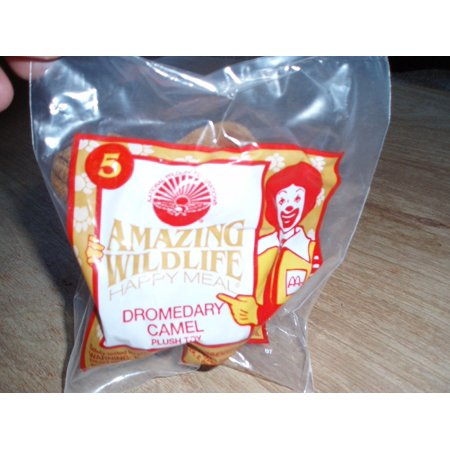 mcdonald's amazing wildlife happy meal dromedary camel plush toy 5 1994, By McDonalds Ship from US](Mcdonalds Happy Meal Halloween Toys)