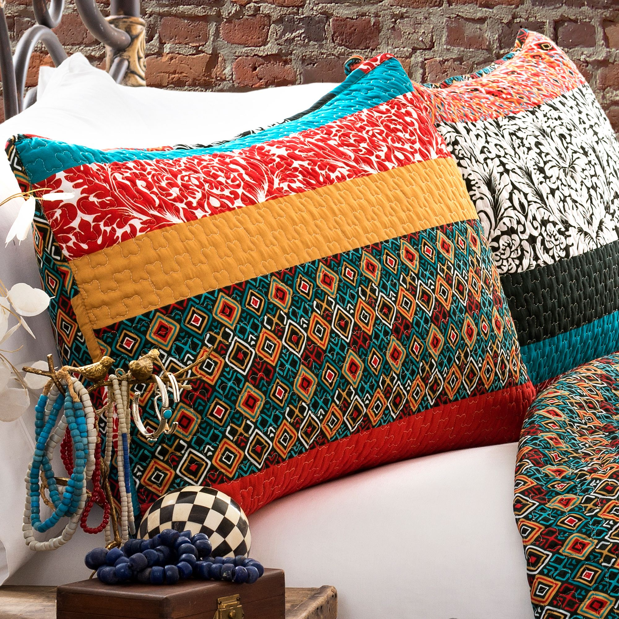 room bohemian bedroom decorating quilts quilt ideas idea style furnish royal