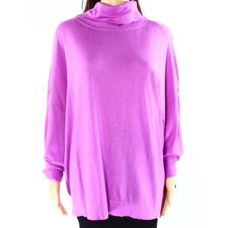 Lauren Ralph Lauren NEW Purple Lilac Womens Large L Turtleneck Sweater