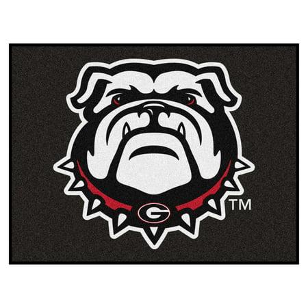 Georgia Bulldogs Rug - Georgia Black New Bulldog All-Star Mat 33.75