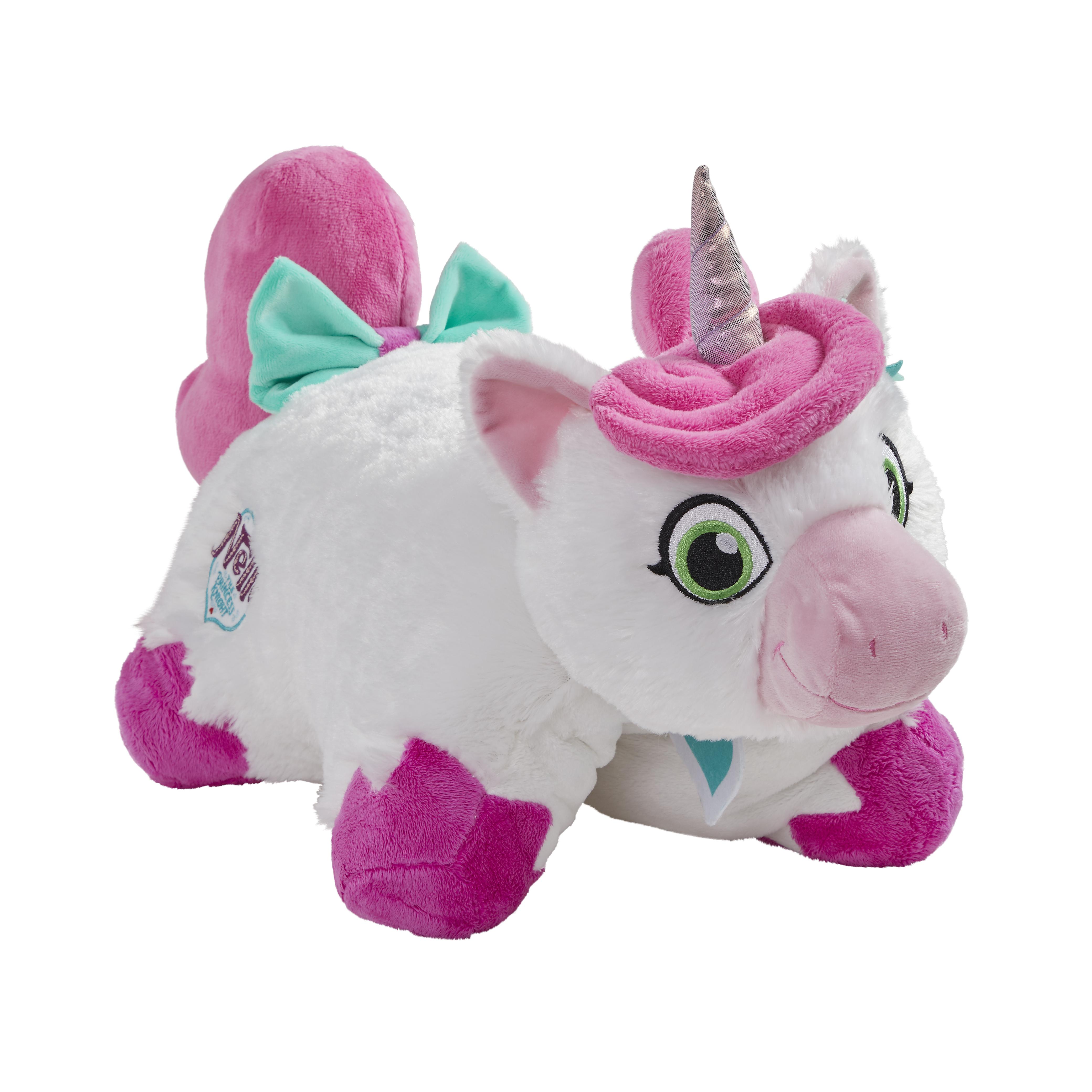"Pillow Pets 16"" Nickelodeon Nella The Princess Knight Stuffed Animal Plush Toy Pillow Pet- Trinket"