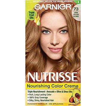 Garnier Nutrisse Permanent Haircolor Dark Golden Blonde 73 Honey
