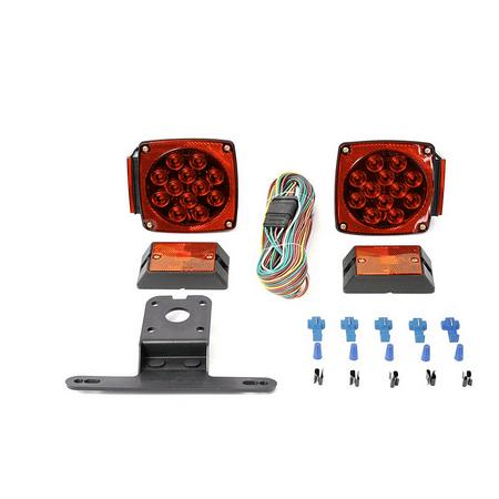 MaxxHaul 70205 12V All LED Submersible Trailer Light Kit (Boat Trailer Led Light Kit)