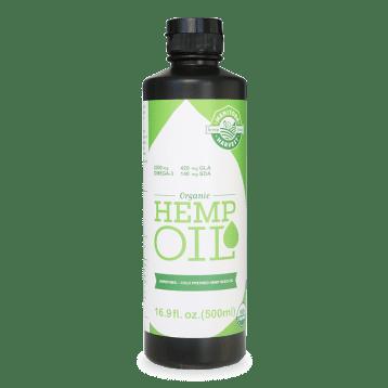 Manitoba Harvest Organic Hemp Seed Oil, 16.9 Fl Oz Living Harvest Hemp