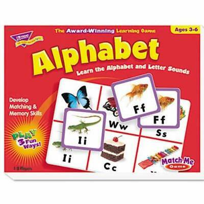 Trend Alphabet Match (Trend Alphabet Match Me Puzzle Game, Ages 4-7)