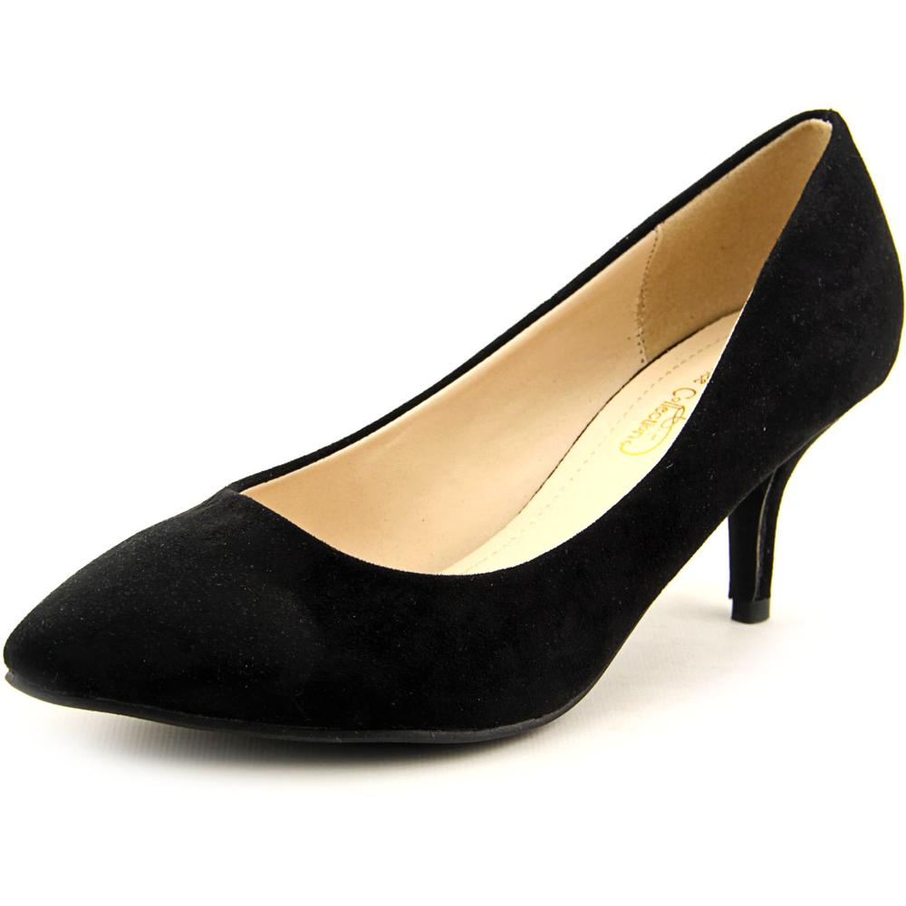 Journee Collection Tina Women US 8 Black Heels