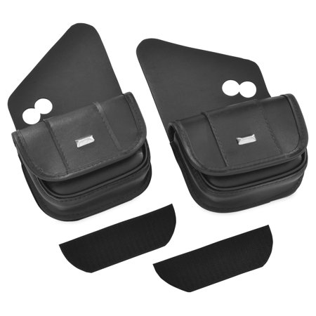 - Hopnel HD90-102BC Dual Windshield Pouches