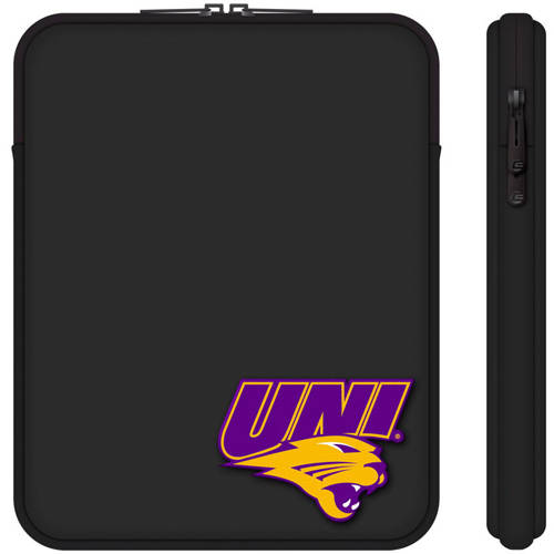 "Centon 10"" Classic Black Tablet Sleeve University of Northern Iowa"