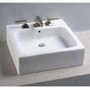 "Toto 19-7/8"" Vessel Sink with Overflow and SanaGloss Ceramic Glaze, Available in Various Colors"